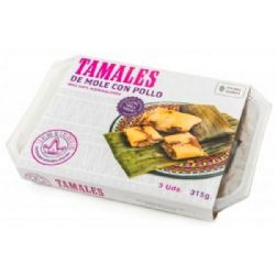 Tamales Chicken Mole | Pack of 3 | Buy Online | Mexican | UK